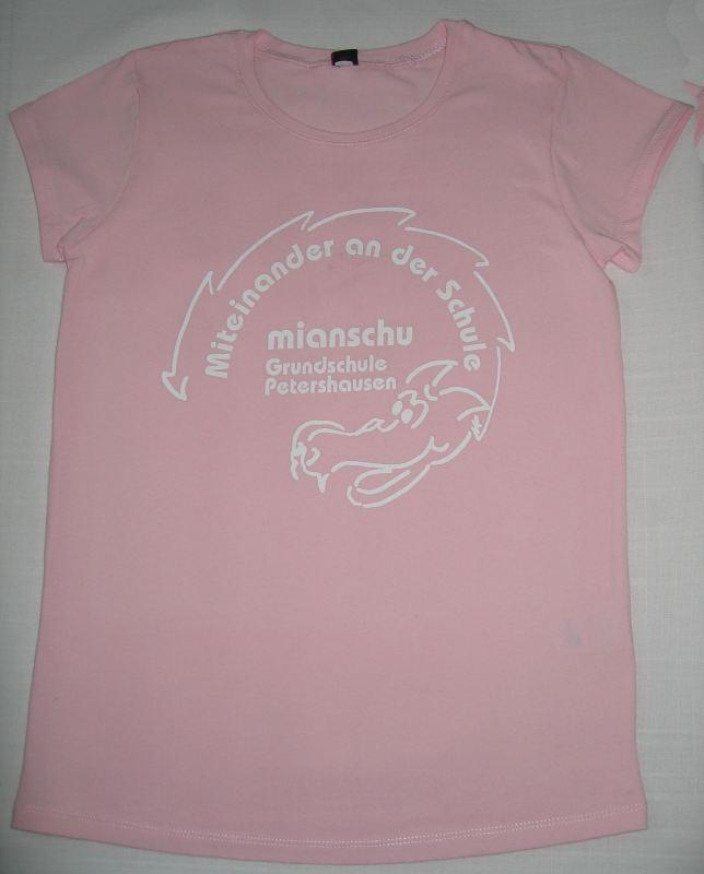 T-Shirt Mianschu rosa