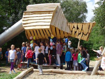Eröffnung Spielplatz Grundschule Petershausen