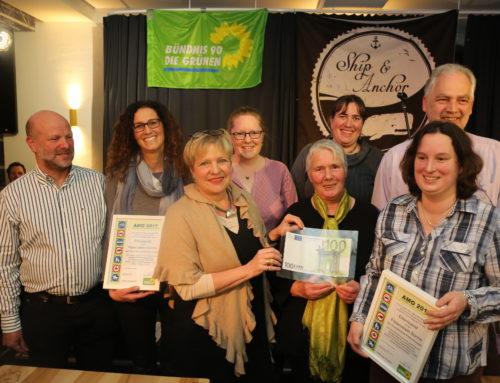 """Verleihung des Preises """"Andere Mobilität"""" an Grundschule und Förderverein SONNE"""